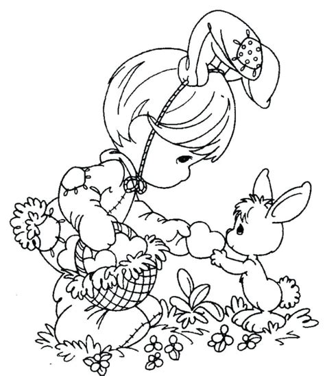 Easter Sunday Coloring Pages Free
