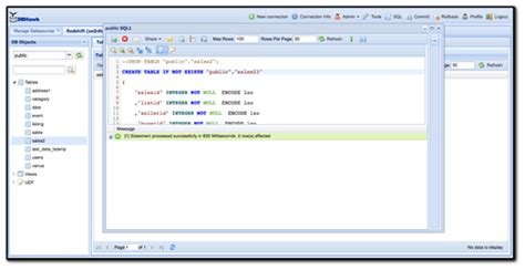 Redshift Create Table by Redshift Sql Data Tool Sql Workbench Dbhawk