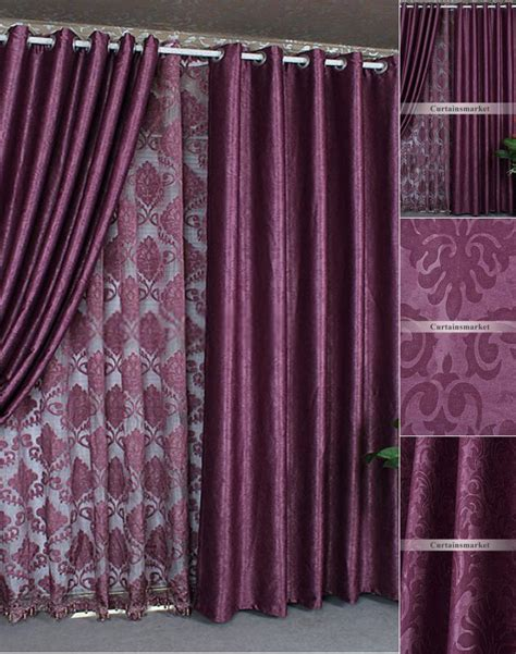 purple silver curtains thermal and energy saving curtains and drapes online in