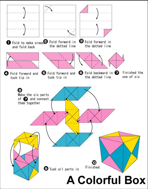 How To Make A Paper Cube Easy - sonobe cubes kinsman