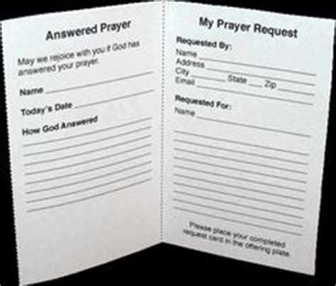 church prayer request cards template church media promotional on water logo