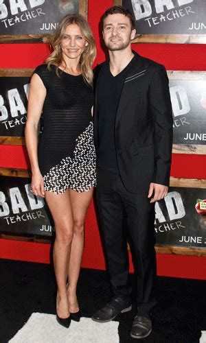 Carpet Fashion From Cameron Justin Co At The Shrek The Third Premiere cameron diaz and justin timberlake get cosy on the