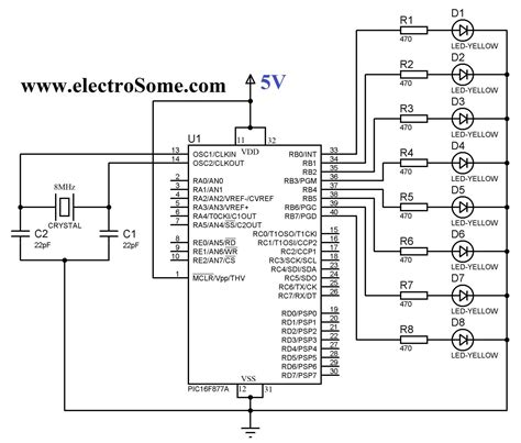 led clock circuit diagram led free engine image for user