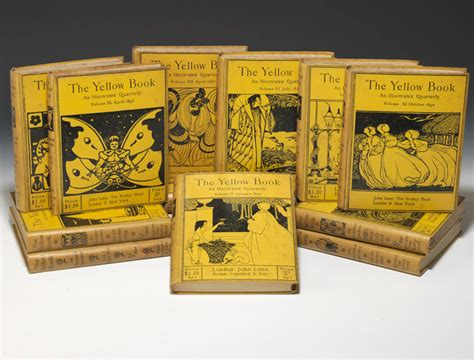 yellowing books beardsley yellow book bauman books