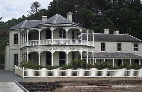 mansion home mansion house kawau island historic reserve