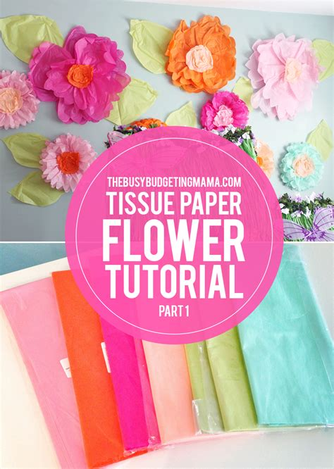 Paper Flowers At Home - large tissue paper flowers tutorial fresh flower bouquets