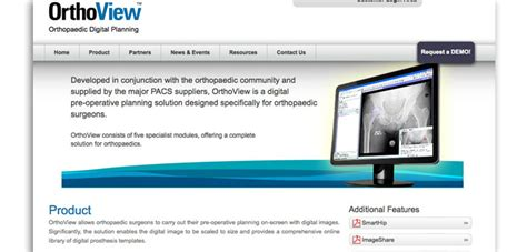 orthoview advances pre operative planning orthopedics