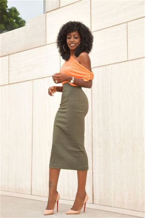 22 trendy olive green skirt styleoholic