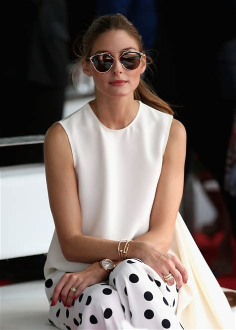 Olivia Palermo Pictures   10th Anniversary of Cartier International Dubai Polo Challenge 2015