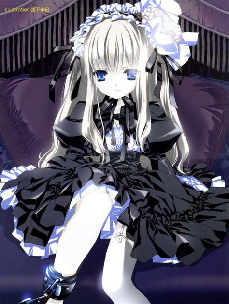 image manga goth girl