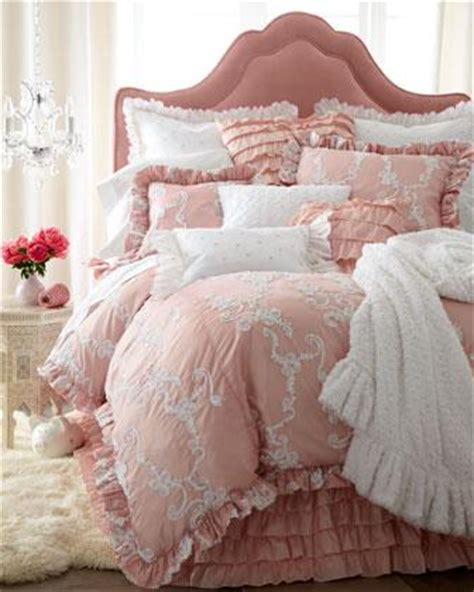 dusty rose bedding catherine bed linens neiman marcus