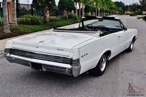 65 Pontiac Gto 65 Pontiac Gto Convertible Tribute 455 V 8 S