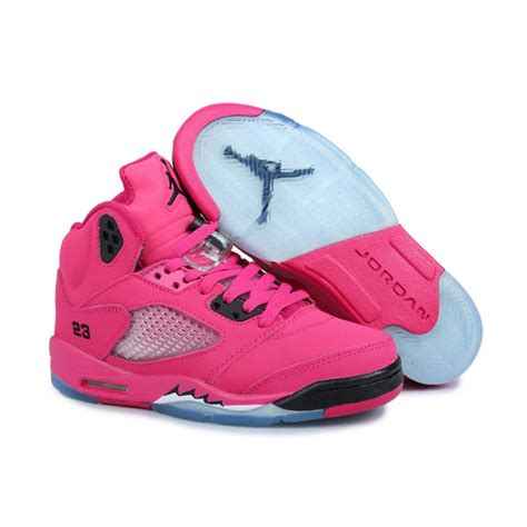 jordans shoes air 5 pink black price 71 80