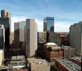 Of Denver Downtown Denver Skyscrapers