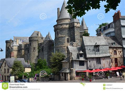 Castle In Vire In Normandy On July 2014 Editorial