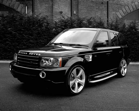 range rover black black land rover wallpapers hd wallpapers id 4145