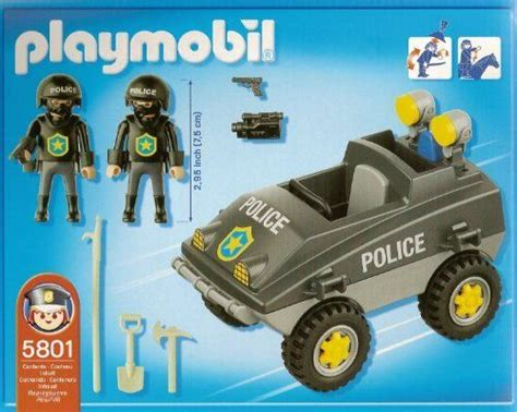 playmobil police vehicle   playmobil   police officers special edition swat