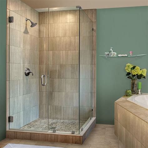 hinges for glass shower doors 1000 ideas about glass shower doors on glass