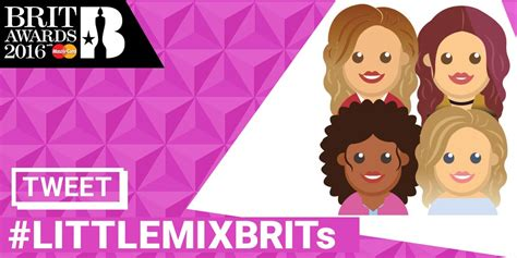 Mix Emoji there are now special brits emojis and users are loving littlemixbrits