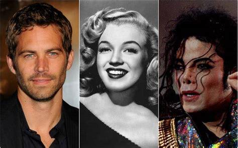 top dead celebrities from michael jackson to paul walker list of 10 richest
