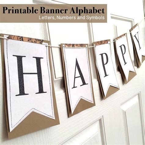 free printable whole alphabet banner printable full alphabet for banners printable banner