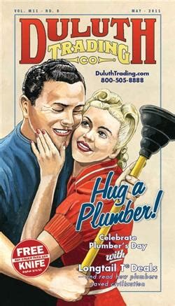 And Day Plumbing by Duluth Trading Launches A Plumber S Day