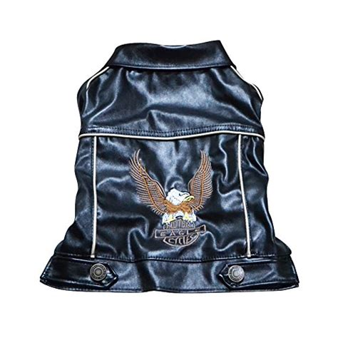 Motorcycle Apparel For Dogs by Nacoco Tm Pu Leather Motorcycle Jacket Dog Pet Clothes