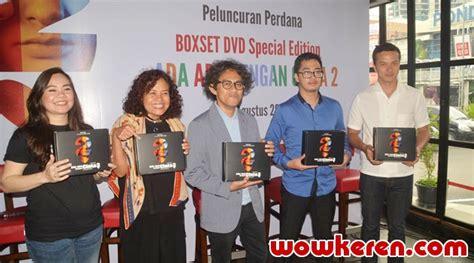 lanjutan film kirun dan adul cegah pembajakan aadc2 rilis limited dvd secara online