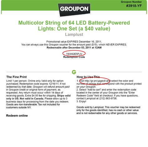 Redeem Groupon Gift Card - gift code for groupon gift ftempo