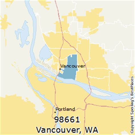 zip code maps vancouver wa best places to live in vancouver zip 98661 washington