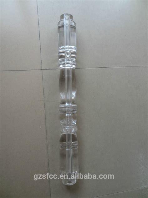 corrimano plexiglass acrilico trasparente plexiglass corrimano balaustra