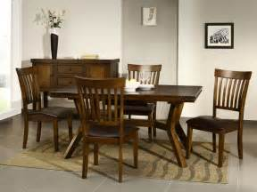 Details about cuba dark wood furniture dining table and chairs set