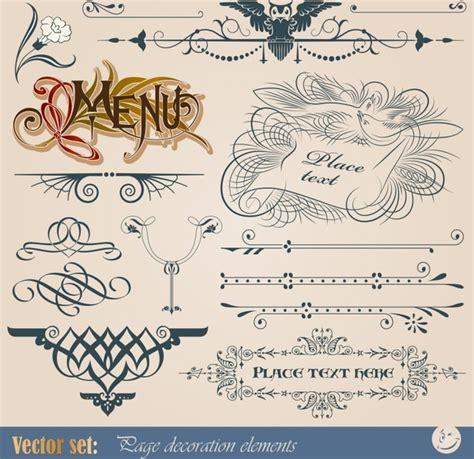 vintage european pattern classic european pattern vector graphics free vector