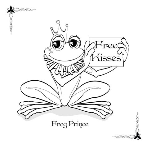 coloring book frog prince by drelion on deviantart