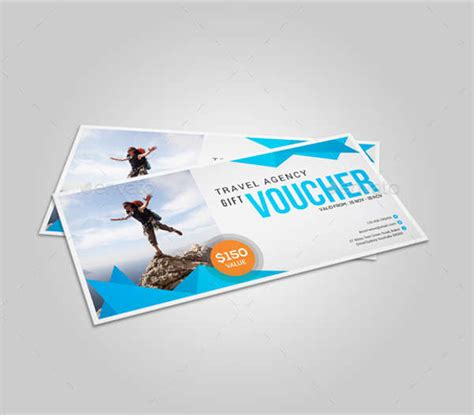 Travel Gift Card - gift card designs free premium templates