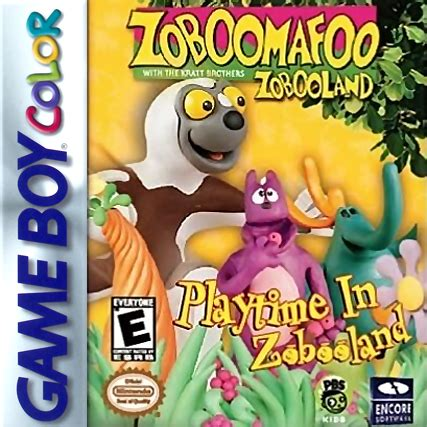 play zoboomafoo playtime in zobooland nintendo game boy