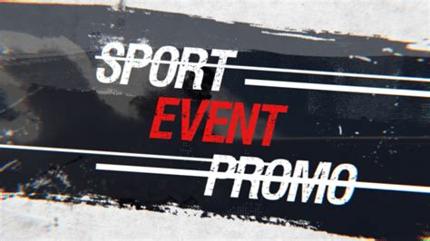 Videohive Sport Event Promo Free After Effects Template Free After Effects Template After Effects Event Promo Templates Free