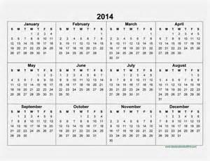 2014 calendar template free 2014 calendar printable gameshacksfree