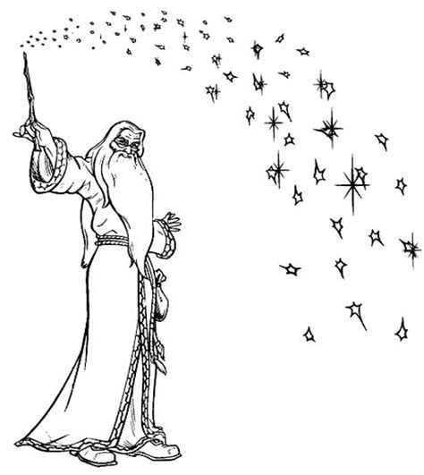 harry potter coloring pages dumbledore coloring albus dumbledore is the headmaster of the