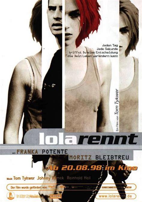 Lola Top Sequel run lola run lola rennt 1999 poster 2 trailer addict
