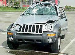crashed jeep liberty indice assetto nuovo