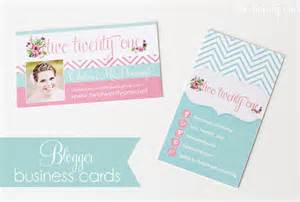 business cards with two names business cards