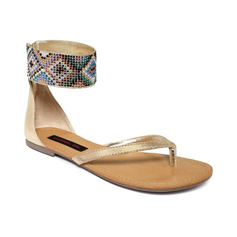 material shoes material shelly sandals in beige black lyst