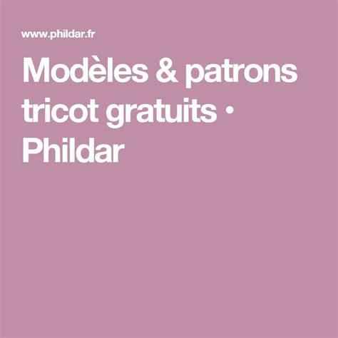 Modele Tricot Phildar Gratuit