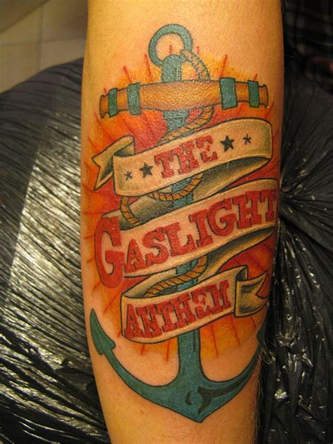 anthem tattoo gaslight anthem inspired tattoos photos of mine feel