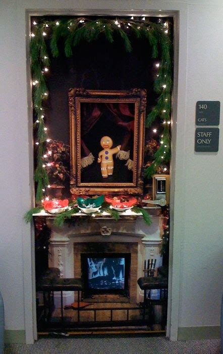 christmas office door contest idea decorations door decorating contest winners door decorating ideas for