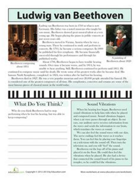 beethoven biography in english richard wagner free composer word search worksheet