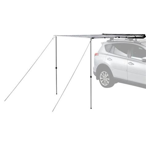 yakima awning yakima 174 jeep grand cherokee raised siderails 2002