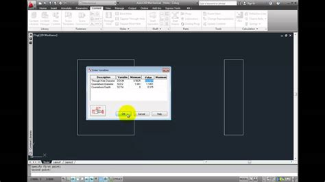 tutorial autocad mechanical 2012 autocad mechanical 2012 tutorial adding counterbored and
