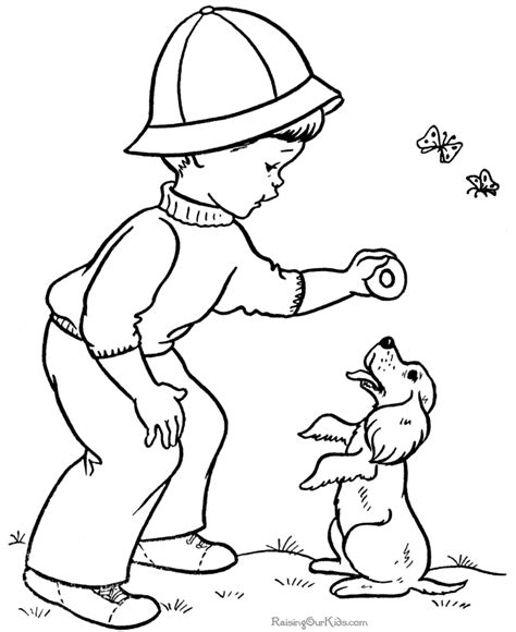 coloring pages with child s name child coloring page coloring home